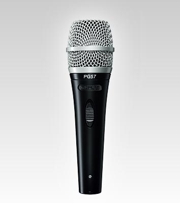 SHURE PG57 Performance Gear Microphone