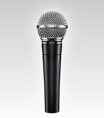 Shure SM58 Vocal Microphone w/ On-Off Switch