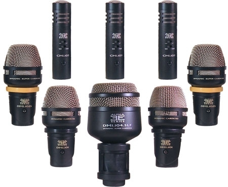 Equation 8-Piece Drum Microphone Pack