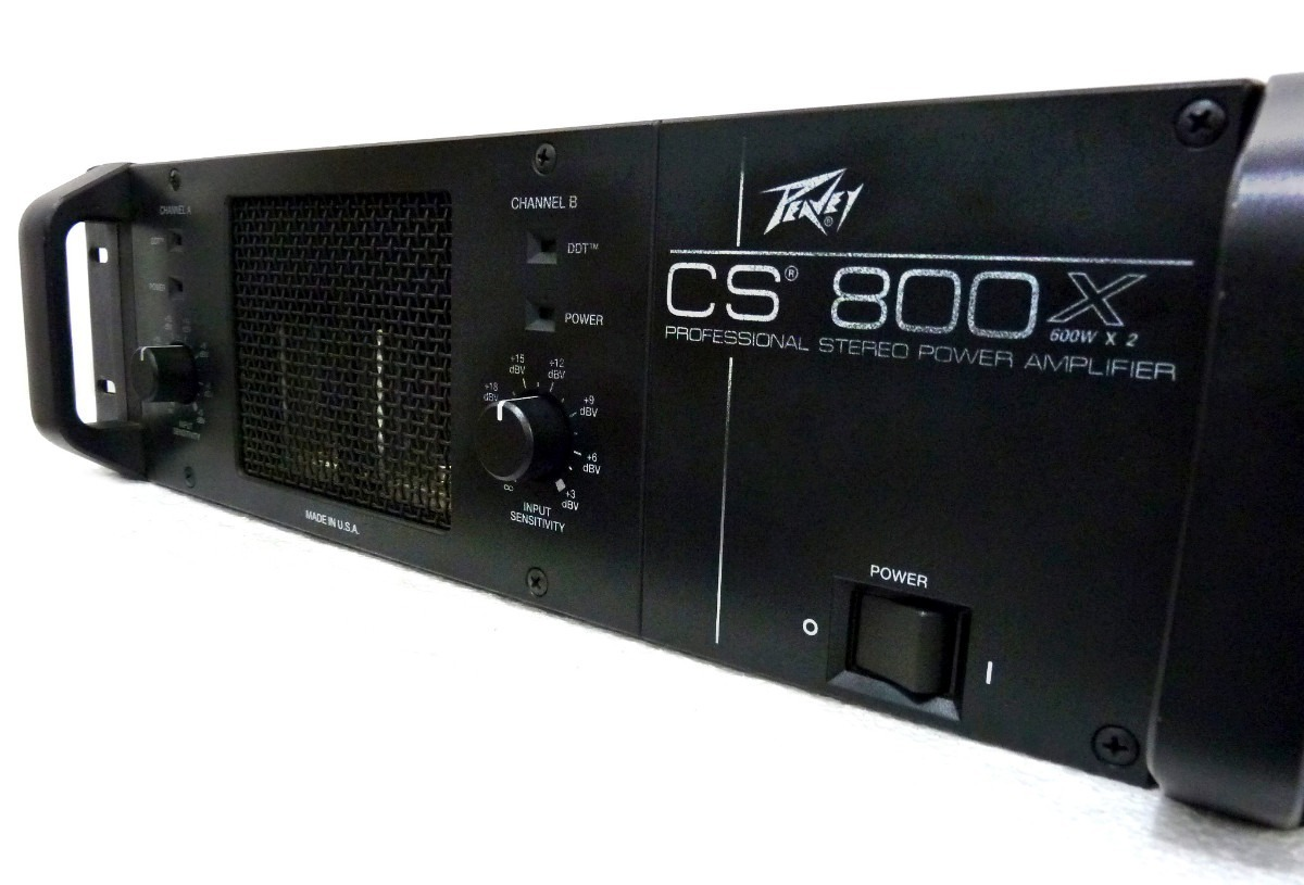peavey cs800x power amplifier the music mart inc. Black Bedroom Furniture Sets. Home Design Ideas
