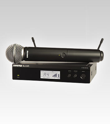 Shure BLX4R Wireless System with SM58
