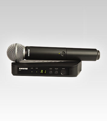 Shure BLX4 Wireless System with SM58