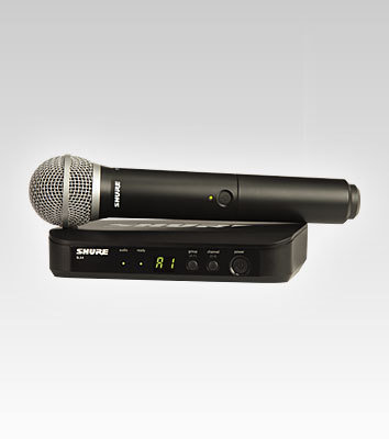 Shure BLX4 Wireless System with PG58