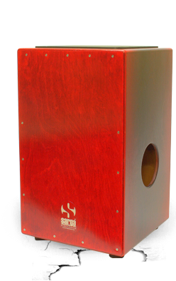 Sarga Percussion Duo Live Cajon With Pickup